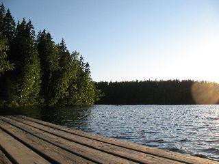 Kattilajärven uimaranta
